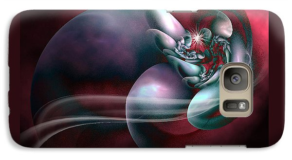 Galaxy Case featuring the digital art Arms Of Inspiration by Holly Ethan