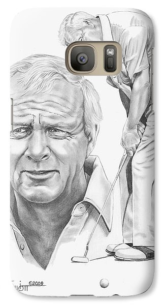 Arnold Palmer Galaxy S7 Case by Murphy Elliott