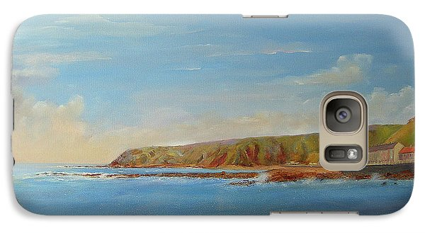 Around Burnmouth Scotland Galaxy S7 Case by Beatrice Cloake
