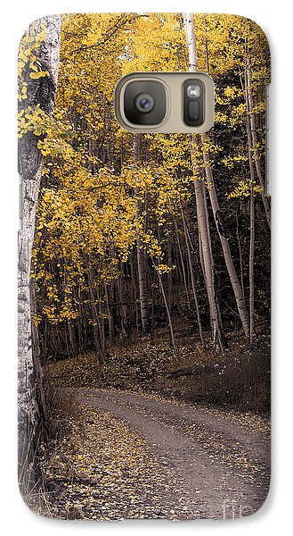 Galaxy Case featuring the photograph Around The Bend by The Forests Edge Photography - Diane Sandoval
