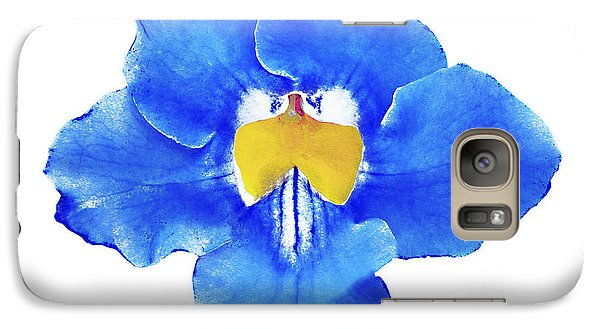 Art Blue Beauty Galaxy S7 Case