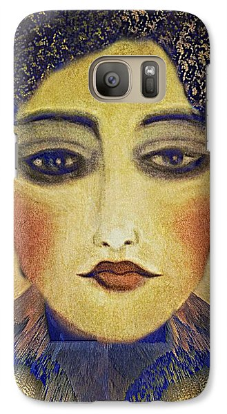 Galaxy Case featuring the digital art Art Deco  Beauty by Alexis Rotella