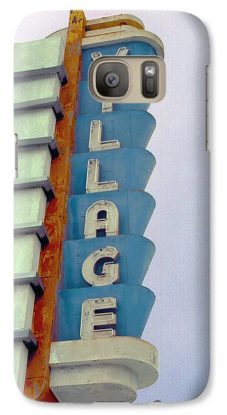 Galaxy Case featuring the photograph Art Deco Village by Matthew Bamberg