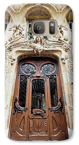 Galaxy Case featuring the photograph Art Nouveau Doors - Paris, France by Melanie Alexandra Price