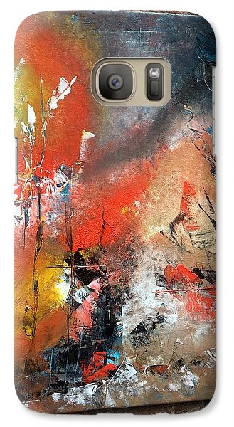 Galaxy Case featuring the painting Art Work by Sheila Mcdonald