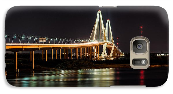Galaxy Case featuring the photograph Arthur Ravenel Bridge by RC Pics