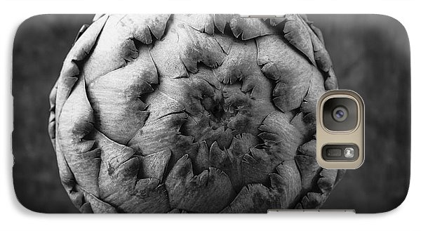 Artichoke Black And White Still Life Two Galaxy S7 Case by Edward Fielding