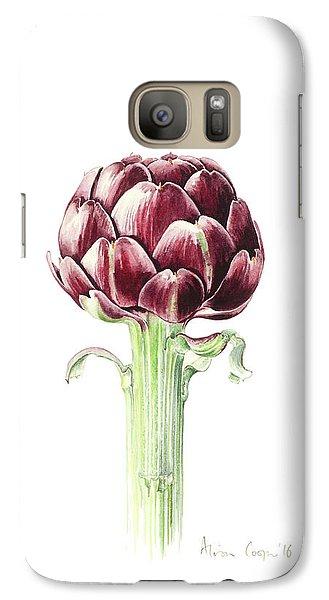 Artichoke From Roman Market Galaxy S7 Case by Alison Cooper