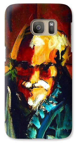 Galaxy Case featuring the painting Artie by Les Leffingwell