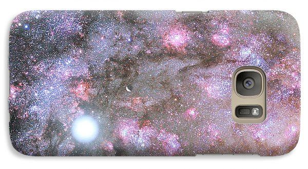 Galaxy Case featuring the digital art Artist's View Of A Dense Galaxy Core Forming by Nasa