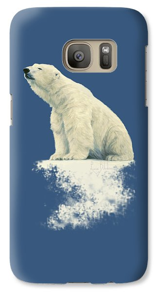 Something In The Air Galaxy Case by Lucie Bilodeau