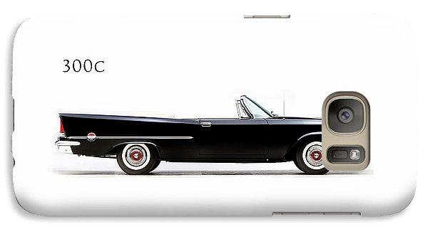 Transportation Galaxy S7 Case - Chrysler 300c 1957 by Mark Rogan