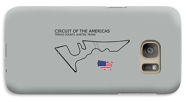 Circuit Of The Americas Galaxy Case by Mark Rogan