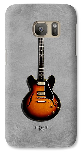 Gibson Es 335 1959 Galaxy S7 Case by Mark Rogan