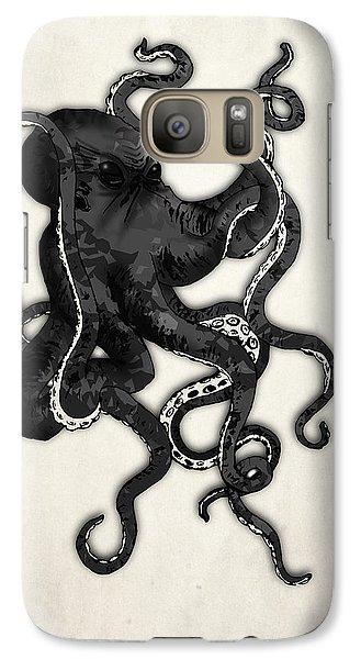 Octopus Galaxy S7 Case by Nicklas Gustafsson