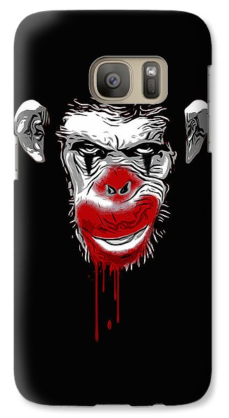 Evil Monkey Clown Galaxy S7 Case