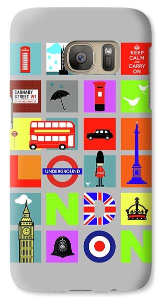 London Galaxy S7 Case