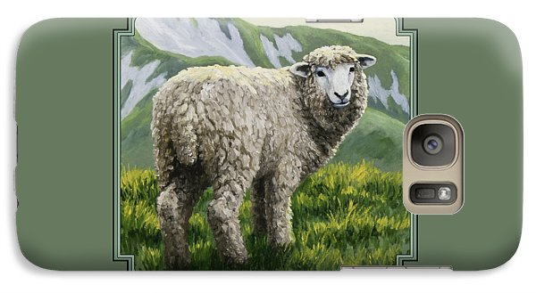 Highland Ewe Galaxy S7 Case by Crista Forest