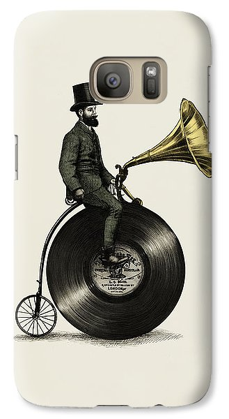 Music Man Galaxy S7 Case by Eric Fan