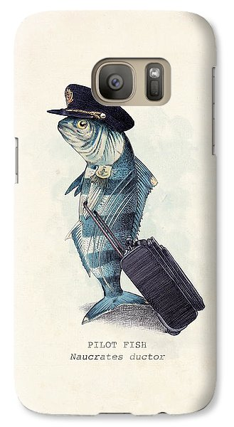 The Pilot Galaxy S7 Case by Eric Fan