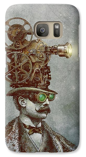 Magician Galaxy S7 Case - The Projectionist by Eric Fan