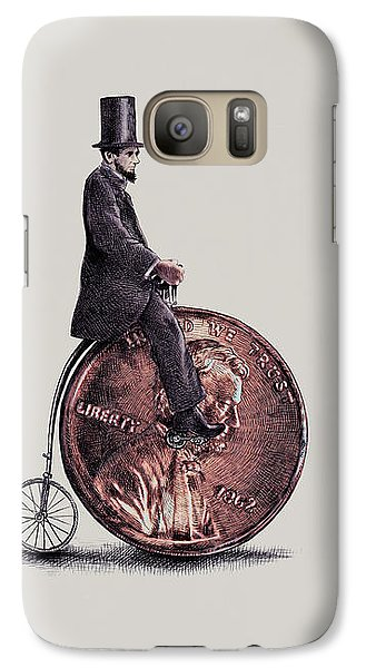 Penny Farthing Galaxy S7 Case