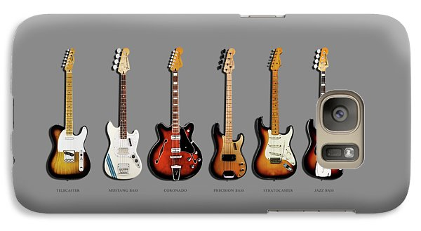 Music Galaxy S7 Case - Fender Guitar Collection by Mark Rogan