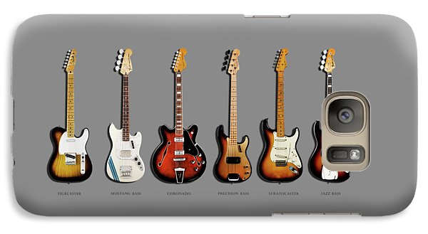 Jazz Galaxy S7 Case - Fender Guitar Collection by Mark Rogan