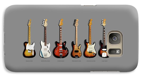 Fender Guitar Collection Galaxy S7 Case by Mark Rogan