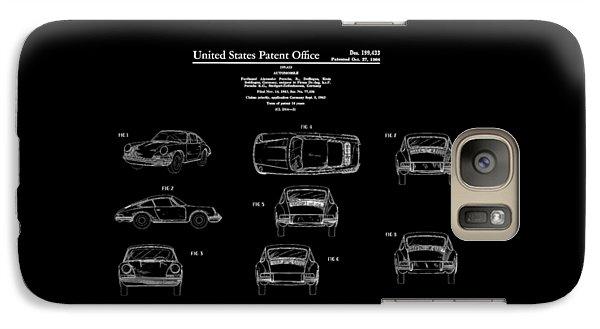 Porsche 911 Patent Galaxy S7 Case