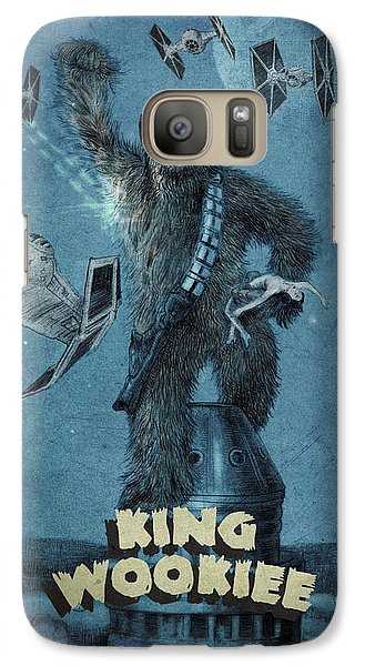 Empire State Building Galaxy S7 Case - King Wookiee by Eric Fan