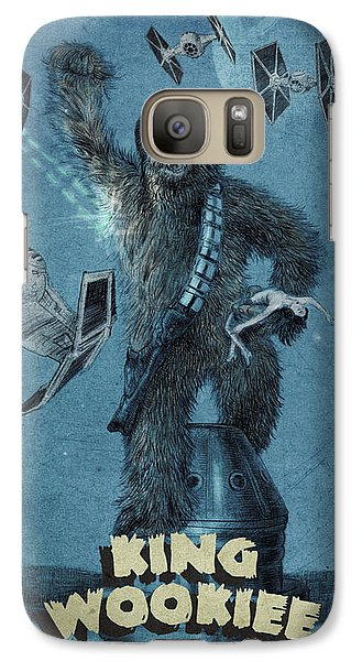 King Wookiee Galaxy Case by Eric Fan