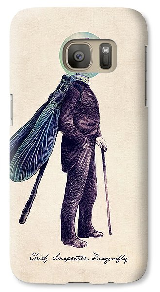 Inspector Dragonfly Galaxy S7 Case