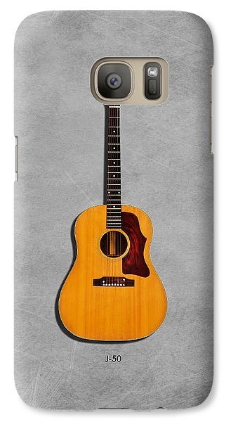 Gibson J-50 1967 Galaxy S7 Case by Mark Rogan