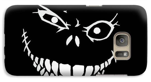 Crazy Monster Grin Galaxy S7 Case