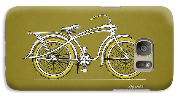 Bicycle Galaxy S7 Case - Bicycle 1937 by Mark Rogan