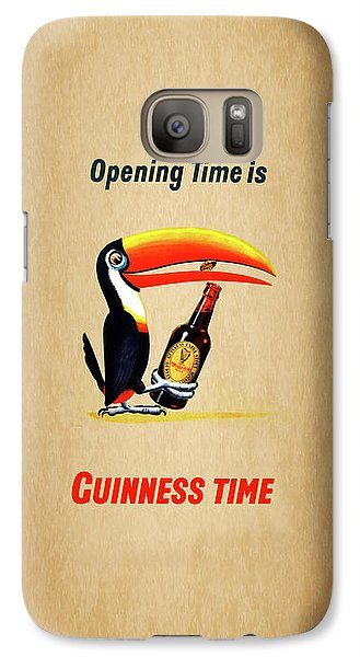 Opening Time Is Guinness Time Galaxy S7 Case by Mark Rogan