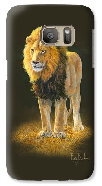 Lion Galaxy S7 Case - In His Prime by Lucie Bilodeau