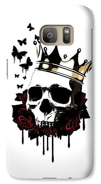 Butterfly Galaxy S7 Case - El Rey De La Muerte by Nicklas Gustafsson