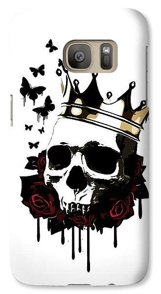 Rose Galaxy S7 Case - El Rey De La Muerte by Nicklas Gustafsson