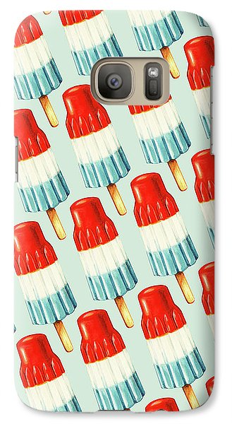 Bomb Pop Pattern Galaxy Case by Kelly Gilleran