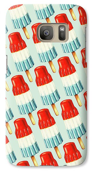 Bomb Pop Pattern Galaxy S7 Case by Kelly Gilleran