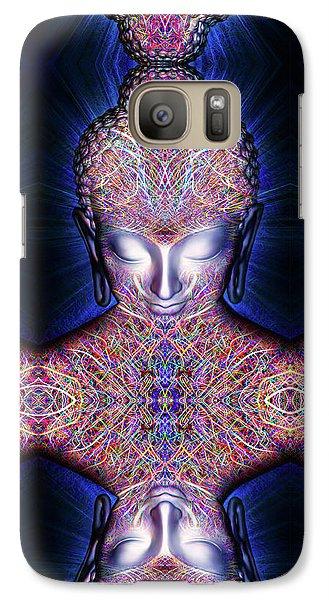 Galaxy Case featuring the painting Kundalini Awakening  by Jalai Lama