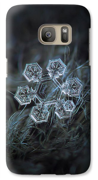 Galaxy Case featuring the photograph Icy Jewel by Alexey Kljatov