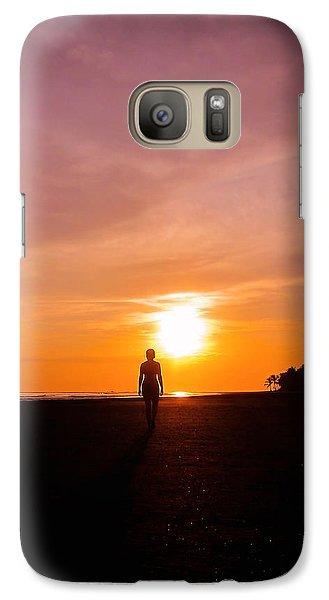 Sunset Walk Galaxy S7 Case
