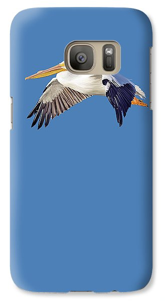Galaxy Case featuring the mixed media Blue Series 003 by Rob Snow