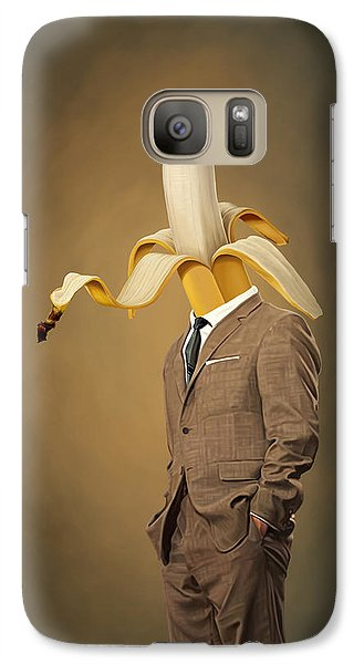 Galaxy Case featuring the drawing Peeled by Rob Snow
