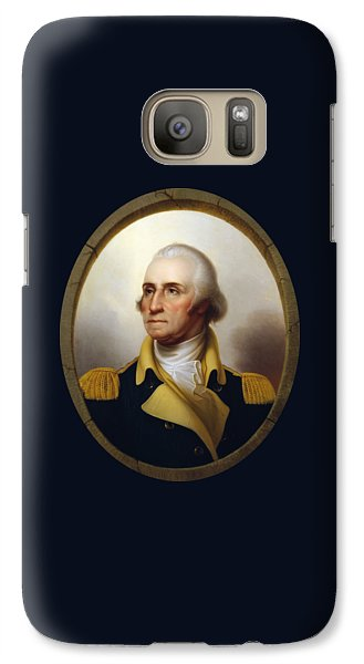 General Washington - Porthole Portrait  Galaxy Case by War Is Hell Store
