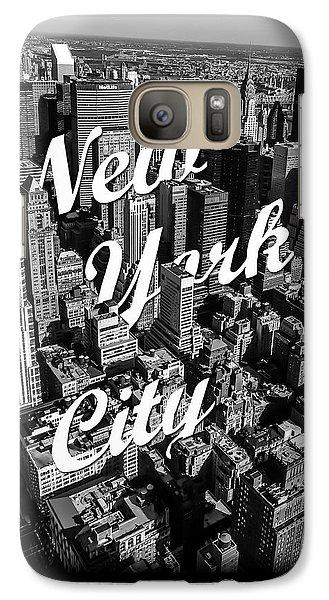 New York City Galaxy S7 Case