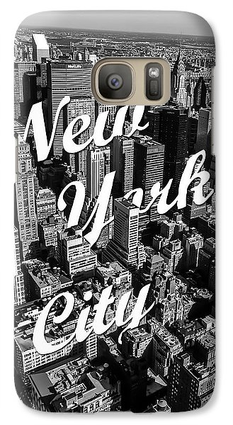 New York City Galaxy S7 Case by Nicklas Gustafsson